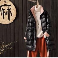 2019冬装韩版羽绒服女中长款宽松显瘦A字版型外套 均码