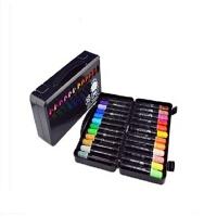 台湾雄狮水彩笔 12、24、36色水彩笔 儿童涂鸦笔 画笔 粗头