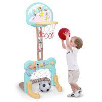 家用足球皮球小男孩子球类玩具儿童篮球架室内可升降投篮框宝宝
