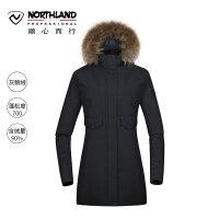 【诺诗兰品牌特惠】诺诗兰新款潮流户外女式防风保暖舒适羽绒服GD072614
