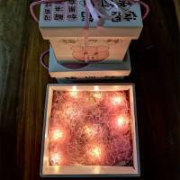 新年礼盒包装零食网红猪饲料糖果礼物礼品盒正方形创意生日盒子空1