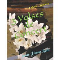 【预订】3 Valses de Concert: Pour Piano Solo