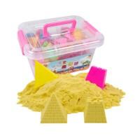 5斤太空玩具沙子套装儿童魔力安全环保男女孩粘土橡皮泥收纳箱装