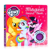 小马宝莉发声书 英文原版 Magical Sound Book (My Little Pony) 发声纸板书 动画卡通