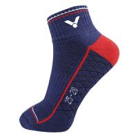 威克多Victor SK136羽毛球袜 男士运动袜全毛圈短筒袜 加厚毛巾底