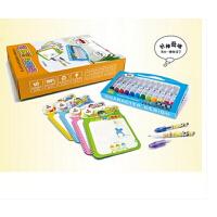 魔笔小良 早教美术用品 儿童绘画学习工具礼盒套装 可擦写涂鸦套装 生日礼品 让孩子想涂就涂 想画就画 湿擦不留痕迹