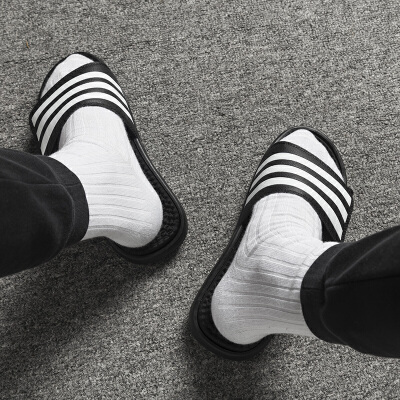 Adidas阿迪达斯 男鞋 运动拖鞋沙滩拖鞋轻便凉拖鞋 F35565 运动拖鞋沙滩拖鞋轻便凉拖鞋