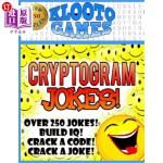 【中商海外直订】KLOOTO Games: CRYPTOGRAM Jokes!