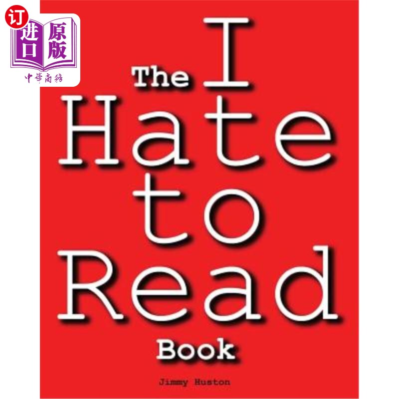 【中商海外直订】The I Hate to Read Book