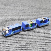 电动火车头仿真和谐号兼容宜家3百变托马斯木质火车轨道儿童玩具6