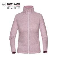 【过年不打烊】诺诗兰新款女式户外抓绒衣保暖舒适外套GF072604