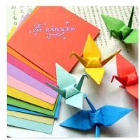 幼儿手工纸 折纸A4彩色打印纸 彩纸压花器用纸多种颜色 100张/包 六一节礼物 买3送1