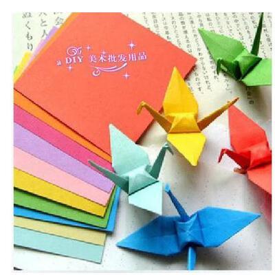 幼儿手工纸 折纸A4彩色打印纸 彩纸压花器用纸多种颜色 100张/包 六一节礼物 买3送1 买3包送1包。买6送2..送订单中**价款