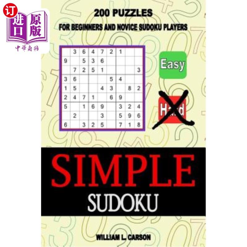 【中商海外直订】Simple Sudoku