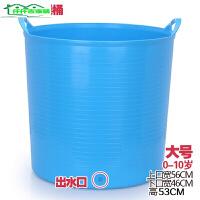 超大号加厚游泳儿童宝宝洗澡桶婴儿浴盆洗澡盆泡澡沐浴桶塑料水桶