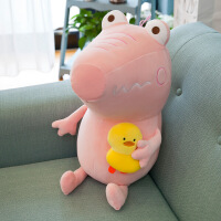 鳄鱼睡觉抱枕公仔韩国搞怪可爱懒人布娃娃玩具
