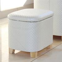 收纳凳 木收纳凳子储物凳可坐家用多功能收纳箱椅创意沙发凳换鞋凳