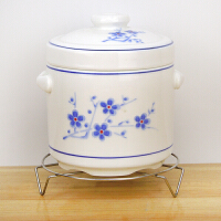 家用宝宝辅食小炖盅炖陶瓷碗内胆双盖燕窝蒸汤盅炖罐厨房用品