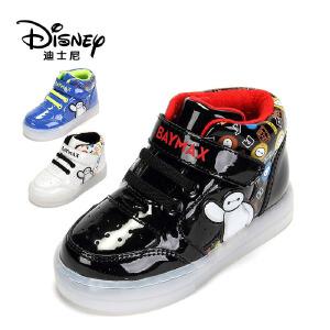 【达芙妮超品日 2件3折】鞋柜/迪士尼童鞋男童儿童保暖棉鞋休闲鞋男童加绒运动鞋