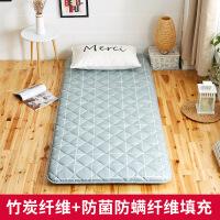 榻榻米床垫0.9m单人学生宿舍1.8m床褥子1.2折叠地铺睡垫家用