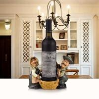 天鹅红酒架子家庭酒柜摆件葡萄酒杯架家居礼物欧宴创意家居用品
