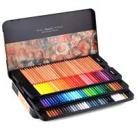 秘密花园 彩铅 填色 MARCO彩色素描铅笔套装马可3100TN 24色 36色 48色雷诺阿 彩色铅笔 铁盒油性彩可画