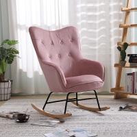 轻奢单人沙发北欧现代简约休闲椅子家用阳台午睡椅懒人躺椅逍遥椅