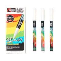 金万年0967白色记号笔 油性笔 细字头 物流笔 油漆笔 一盒12支