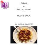【中商海外直订】Quick & Easy Cooking Recipe Book