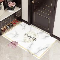 门口地垫pvc防水软玻璃可擦洗进门脚垫 家用门垫客厅入户门防滑垫