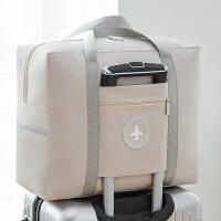 JH0945 防水手提折叠收纳袋 整理袋衣服打包袋大容量收纳包旅行收纳飞机行李袋 卡其色