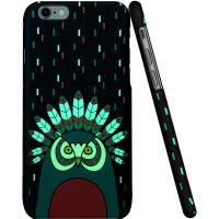 【当当自营】 ESR亿色 iPhone6s Plus/6 Plus手机壳 浮雕卡通硬壳 插画师系列夜光款 印第安夜行者