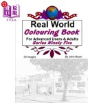 【中商海外直订】Real World Colouring Books Series 95
