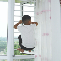 儿童安全窗户防护网隐形防盗网窗家用自装儿童免打孔安全高层窗户防护栏窗阳台防护网