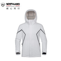 【同款】NORTHLAND/诺诗兰新款男士户外防风防水透气冲锋衣GS085101