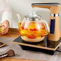 容声 自动上水 电热烧水壶泡茶专用玻璃全自动上水家用煮器保温一体抽水茶具智能 一键全自动上水