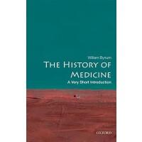 英文原版 牛津通识读本:医学史 The History of Medicine: A Very