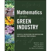 【预订】Mathematics for the Green Industry: Essential Calculatio