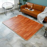 碳晶地暖垫 地暖垫石墨烯电热地毯移动客厅家用暖脚加热地垫
