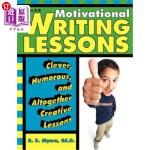 【中商海外直订】Motivational Writing Lessons: Clever, Humorous, and