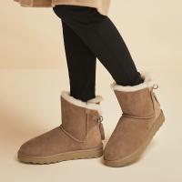 网易严选 女式流苏雪地靴