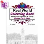 【中商海外直订】Real World Colouring Books Series 44