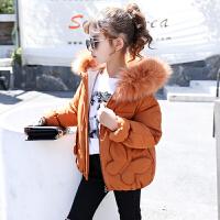儿童棉衣冬季2018新款韩版中大童短款棉袄厚款女孩