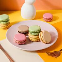法式马卡龙24枚 西式糕点心小蛋糕甜品零食品送女友礼盒甜点