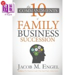 【中商海外直订】The Ten Commandments of Family Business Succession:
