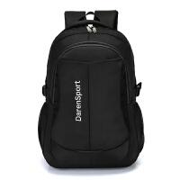 20180904191258102户外大容量轻便旅行徒步背包男士电脑包旅游双肩包防水女运动书包 黑色 均码 T-208