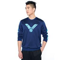 威克多Victor T-85106胜利羽毛球服 男女款针织圆领卫衣
