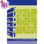 【中商海外直订】Sudoku, Volume 3: 200 Puzzles: Hard to Extreme