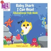【中商海外直订】Baby Shark I Can Read (Educational Kids Book): Baby