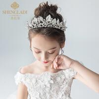 儿童皇冠头饰公主水晶韩式水钻女孩生日大发箍